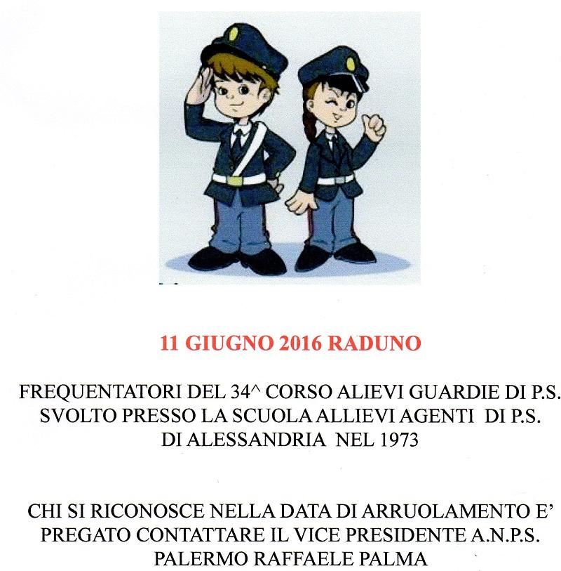 RADUNO 34^ CORSO Agenti